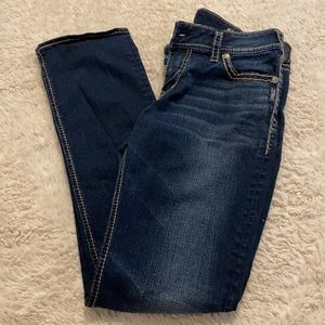 Silver Jeans Suki Mid Straight Jeans Size 31